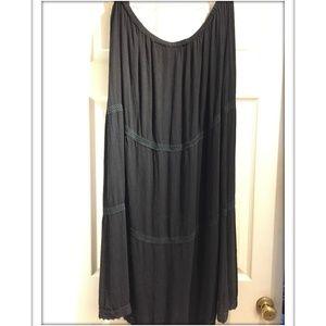 Vintage flame label torrid tiered skirt 4x